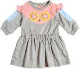 Fendi Piruchan Cotton Interlock Dress