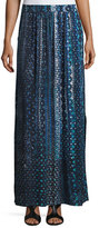 Nic+Zoe Fountain Hand-Painted Maxi Skirt, Petite