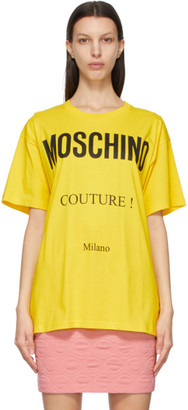 Moschino Yellow Couture T-Shirt