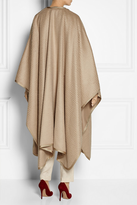 The Row Roater alpaca and wool-blend cape