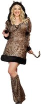 Dreamgirl Plus Size Cheetah Cat Costume
