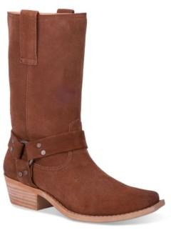 Dingo Women's Leather Regular-Calf Boot Women's Shoes