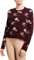Valentino Embellished Wool/Cashmere Sweater