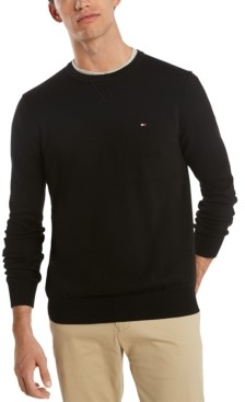 Tommy Hilfiger Men's Signature Solid Sweater
