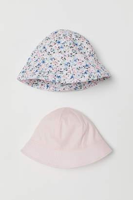 H&M 2-pack Cotton Sun Hats