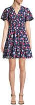 Kate Spade Daisy Eyelet Short-Sleeve Mini Dress