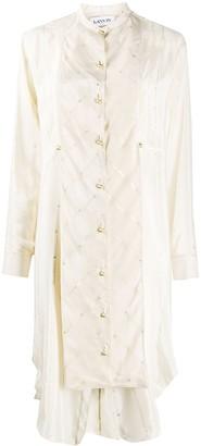 Lanvin Asymmetric Shirt Dress