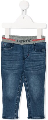 Levi's Elasticated Logo Jeans