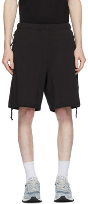 N.Hoolywood Black Patch Shorts
