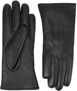 Dents Ripley Black Leather Gloves