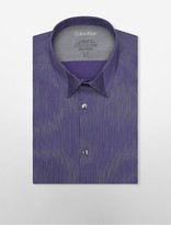 Calvin Klein X Fit Ultra Slim Fit Stripe Dress Shirt