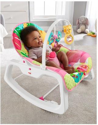 Fisher-Price Rainforest Infant To Toddler Rocker - Pink