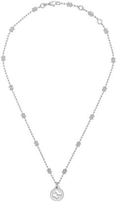 Gucci Silver Interlocking G Necklace