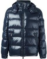 Moncler Men's Blue Polyamide Down Jacket.