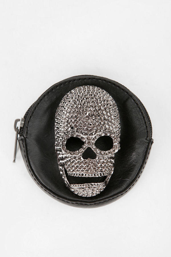 Urban Outfitters Deena & Ozzy Skull Coin Purse