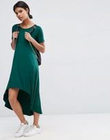 Asos T-Shirt Dress with Dipped Hem