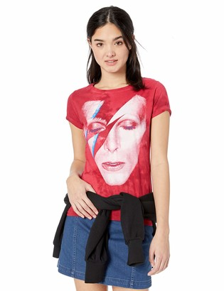 Liquid Blue Women's David Bowie Alladdin Sane Long Length T-Shirt