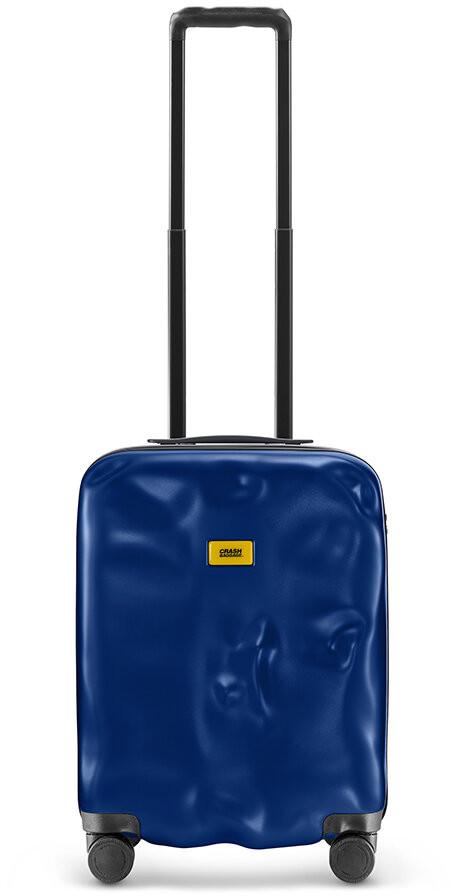 CRASH BAGGAGE Icon Suitcase - Deep Blue - Cabin