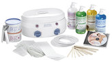 Satin Smooth Professional Double Warmer Kit