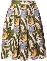 Dorothy Perkins Pink Tropical Print Skirt