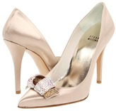 Stuart Weitzman & Evening Collection - Gloloopy (Blonde Satin) - Footwear