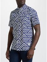 Penfield Elba Patterned Short Sleeve Shirt