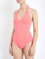 Melissa Odabash Rimini halterneck swimsuit