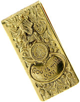 Vatican Money Clip, Gold-Tone God is With You