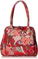 Vera Bradley Turnlock Satchel 2.0 Shoulder Bag