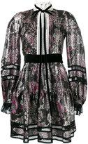 Marc Jacobs floral print dress - women - Silk/Polyamide/Polyester - 2