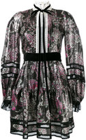 Marc Jacobs floral print dress - women - Silk/Polyamide/Polyester - 4