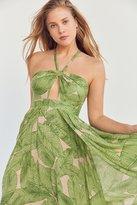 Kimchi & Blue Kimchi Blue Deveraux Cutout Twist Maxi Dress