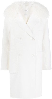 P.A.R.O.S.H. Double-Breasted Fitted Coat