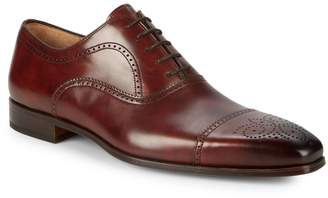 Magnanni Leather Brogue Oxfords