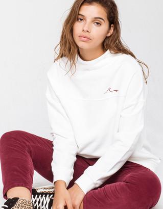 Roxy Mind Surf Womens Mock Neck Sweatshirt