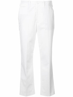 Closed High Waisted Cropped Trousers