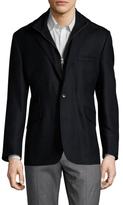 Kroon Ritchie Wool Zip Front Sportcoat