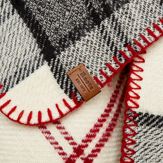 Roots Smoke Lake Plaid Scarf