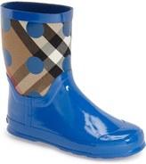 Burberry 'Ranmoor' Waterproof Rain Boot (Walker, Toddler & Little Kid)