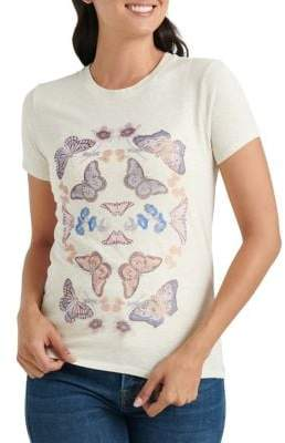 Lucky Brand Graphic Cotton-Blend Tee