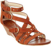 Isola Petra Suede Wedge Sandal
