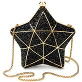 Aspinal of London Glitter Star Clutch Bag