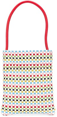 TL-180 Woven Style Top Handle Tote Bag