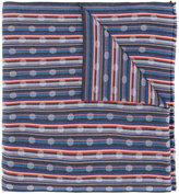 Paul Smith woven stripe scarf