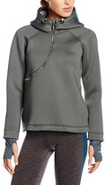 Freddy Women's Felpa Zip Curva Hooded Jumper