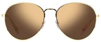 Givenchy 60MM Mirrored Aviator Sunglasses