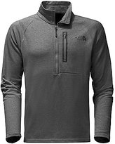 The North Face Canyonlands Half-Zip Stretch Heathered Fleece Pullover