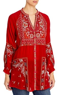 Johnny Was Embroidered Tapestry Tunic