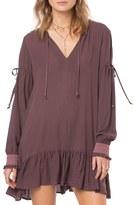 O'Neill Women's Pluto Ruffle Hem Swing Dress
