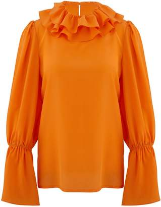 Tory Burch Frilled blouse